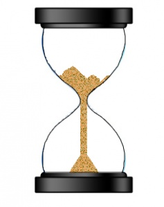 HTML5 Canvas - An egg timer (hourglass) with animated falling sand