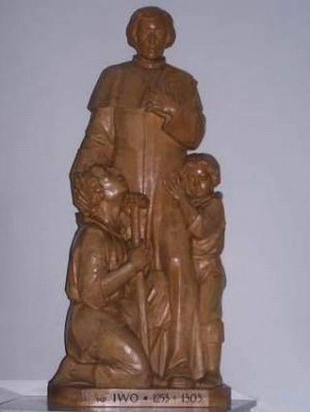 Iwonicz-Zdroj (Pologne), sculpteur W. Kandefer, photographe Maciej Drogoń