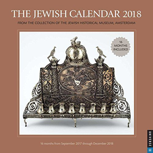The Jewish 2017-2018 Wall Calendar: Jewish Year 5778 16 Month Calendar  Jewish  Height: 12.00 in. Width: 12.00 in.  Manufactured by: Andrews McMeel Publishing  Seller SKU: 201800002349  The Jewish Calendar Wall Calendar