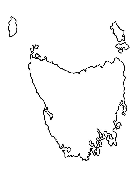 Tasmania map outline edi maps full hd maps tasmania blank map outline of geography world map australian map tasmania blank map outline of geography world map australian map outline basic outline maps gumiabroncs Images