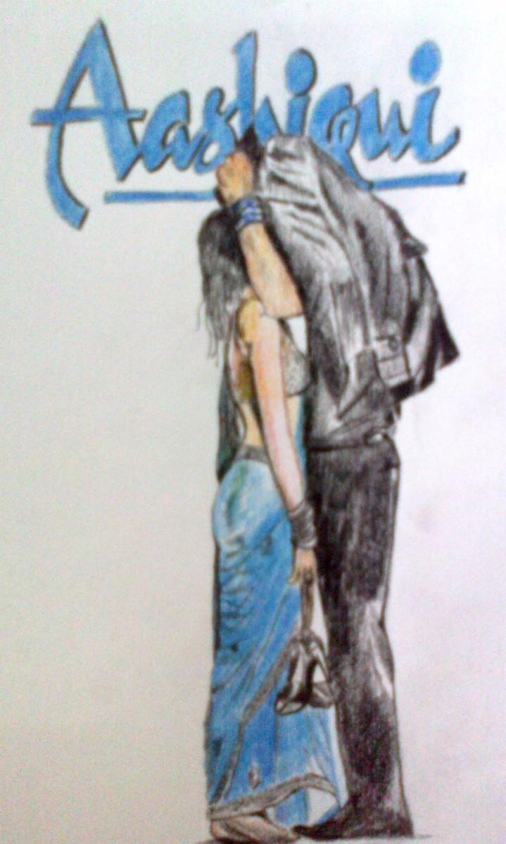 ab tum hi ho - Sketching by Sukh Sagar Chauhan in sketchings at touchtalent 72858