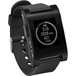 Pebble Smartwatch: A great watch for those who are well-acquainted with their gadgets. You will have a wide compatibility with both common Apple and Android s