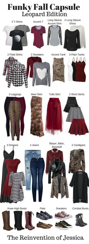 Fall Capsule Wardrobe - Leopard Print