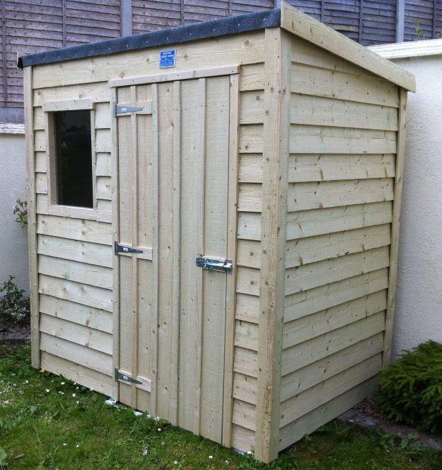 Garden Sheds Ireland - Timber Sheds Dublin and Wooden Sheds for Sale Online Overlap Lean To Range