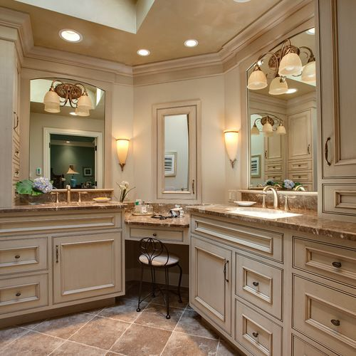 Photo On Corner Vanities Home Design Ideas Pictures Remodel and Decor
