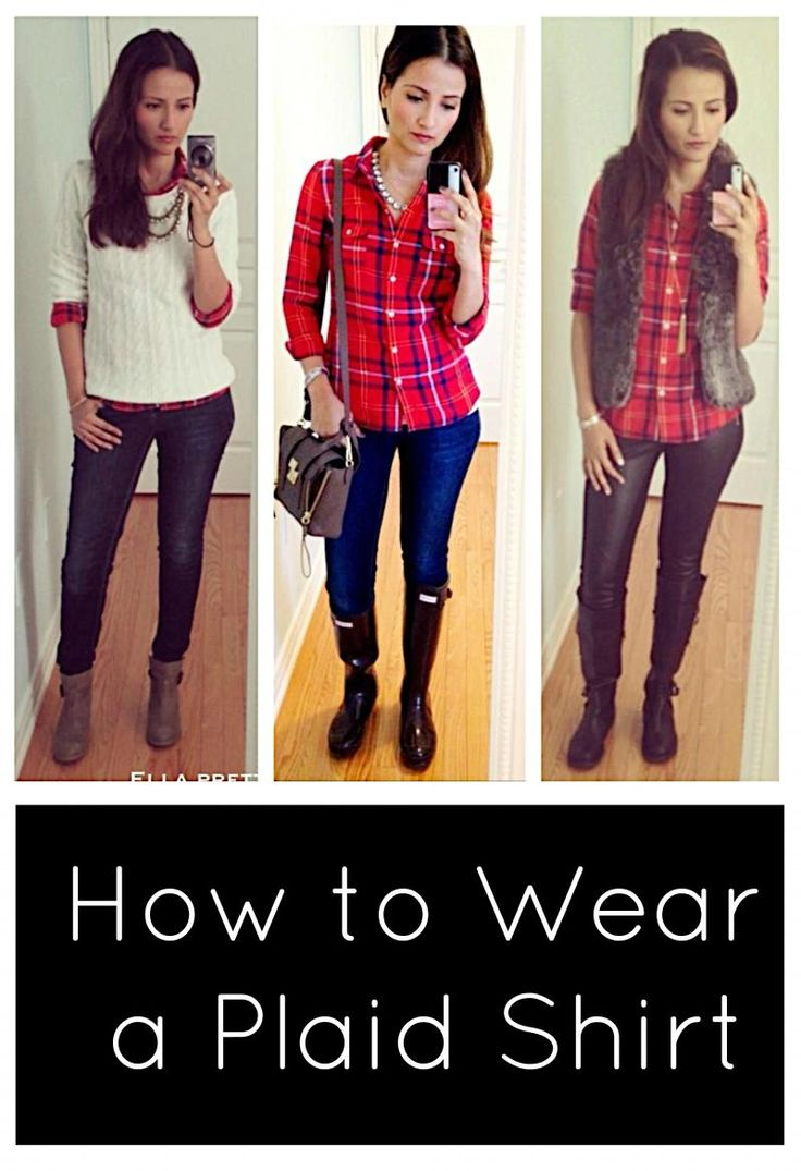 368 best images about leggings and boots on pinterest for Plaid shirt under sweater