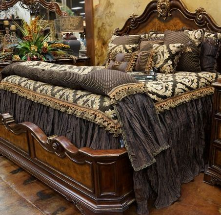 tuscan style bed with high  bedroom furniturebedroom setscherry