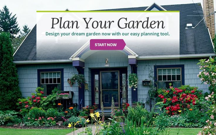 This easy planning tool will help you design the garden of your dreams. Whether you plan to have a vegetable garden or a perennial flower garden, this landscape planner will make creating an outdoor oasis seem like a breeze.