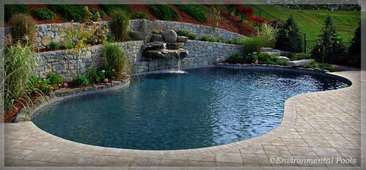Small inground pool designs pools custom gunite for Custom swimming pool designs