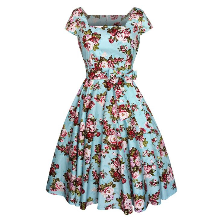 Dress rockabilly pin up clothing swing prom christmas tea party by