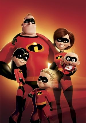 The Incredibles - one of the movies that I can watch over and over.