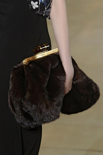 Miu Miu fur bag ... love
