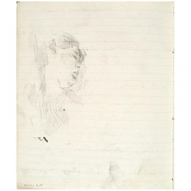 Slapend meisje, James Ensor