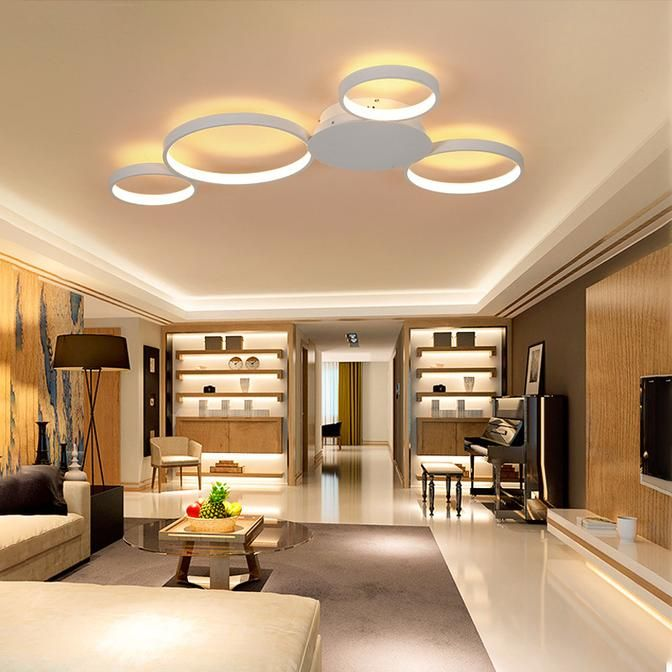 Regiina Led Ceiling Lights In 2020 Living Room Lighting Ceiling Design Living Room Modern Room