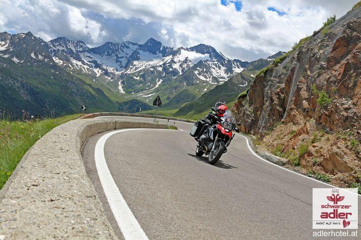 Motorradurlaub in Südtirol in Nauders am Stilfser Joch