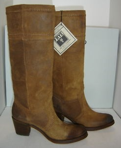 #Frye Jane 14L Stitch Brown Tall Boots: Boots Women, Beauty Boots, Tall Boots, Cowboys Boots