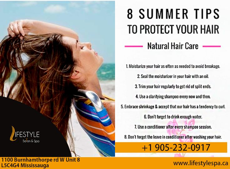 Life Is Too Short To Have Boring, Dry Hair.  Follow These Tips By Lifestyle To Protect Your Hair.  For Appointment & More Queries :  Call: 905-232-0917 #LifeStyle #Salon #Spa