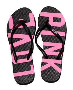 walk on the beach or enjoy your summer in these PINK Flip Flops!
