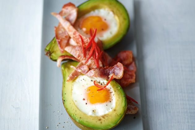 Try Joe's EGGS BAKED IN AVOCADO (Reduced Carb recipe)