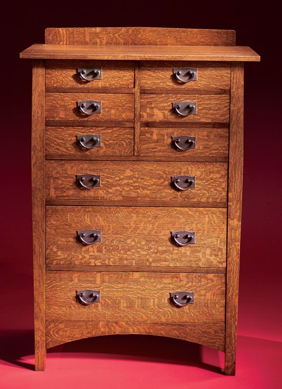 Shaker chest of drawers plans woodworking projects