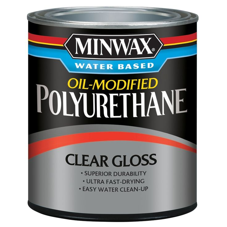 Amazon Com Minwax 230104444 Fast Drying Polyurethane Satin 1 2 Pint Home Improvement Minwax Polyurethane Staining Wood Minwax
