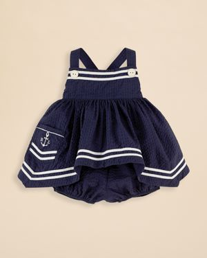Ralph Lauren Nautical Seersucker Tunic. - jenni and Carla we could get a pic of all 3 cousins now!