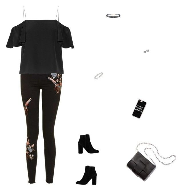"""""""😠😠😠"""" by celmad on Polyvore featuring Topshop, Fendi, MANGO, MM6 Maison Margiela, Casetify, Messika, Kate Spade and LULUS"""