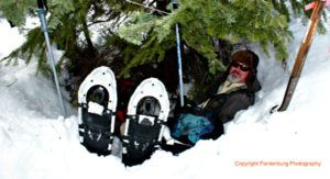 Learn how to make an emergency tree well shelter in deep snow - in about 15 minutes!