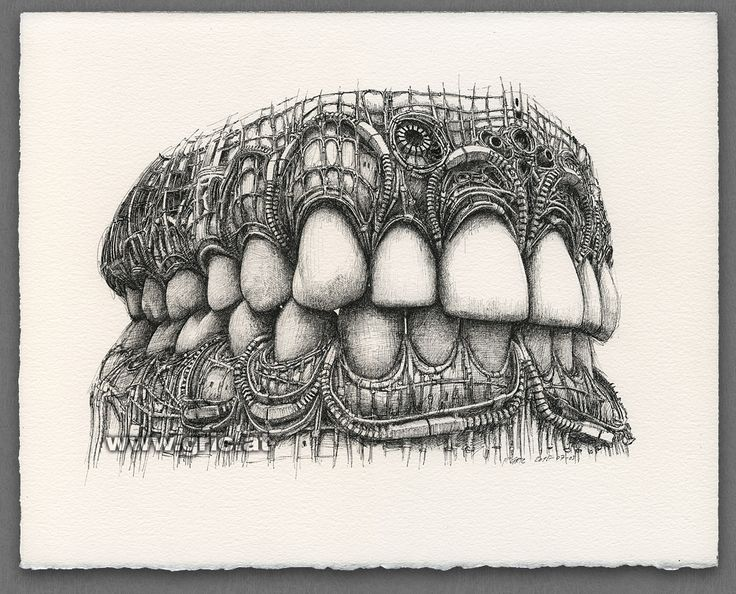 PETER GRIC | Teeth 2015-07-03 | Zähne 2015-07-03