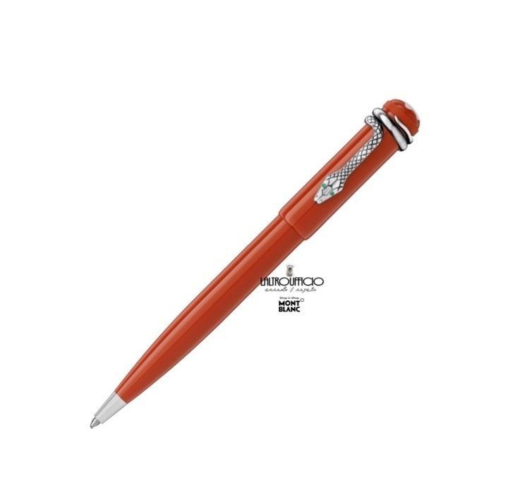 Penna a sfera Montblanc Heritage Collection Rouge et Noir Special Edition