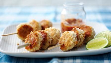 Smokies are really versatile; these Arbroath smokie cakes with chilli jam by James Martin are tasty!