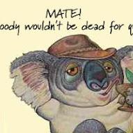 Old Aussie Saying