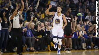 """Stephen Curry has responded to Under Armour CEO's Kevin Plank assessment of President Trump as a """"real asset"""" to the United States. The Golden State Warriors star has a different take. """"I agree with that description,"""" Curry told The Mercury News. """"if you remove the 'et' from asset."""" Curry is one of the biggest stars under contract with the sportswear company, and his comments are likely to add fuel to the backlash triggered by Plank's endorsement of the president."""