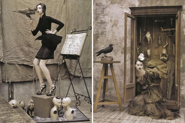 Ruven Afanador: Ruven Afanador, Fashion Art, Style Pinboard, Macabre Fashion