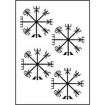 tatouage croix viking Björk