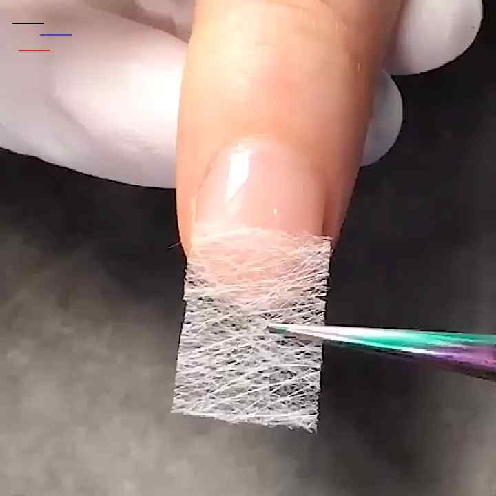 Onglesnoel2019 Wasting Your Money And Time On Easy To Break Expensive Acrylic Nail Extension Fiberglass Is Yet The Hottest Item Giving You The Most Natura En 2020