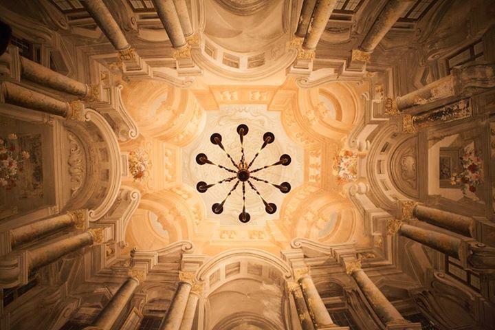The ceiling of I Salotti  www.isalotti.net