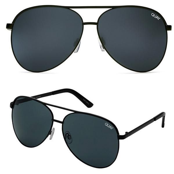 quay australia - vivienne 64mm oversized aviator sunglasses - more colors