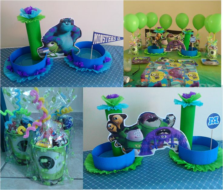 ideas para cumpleaos con monsters university