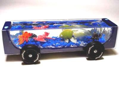 245 best images about pinewood derby cars on pinterest for Car fish tank