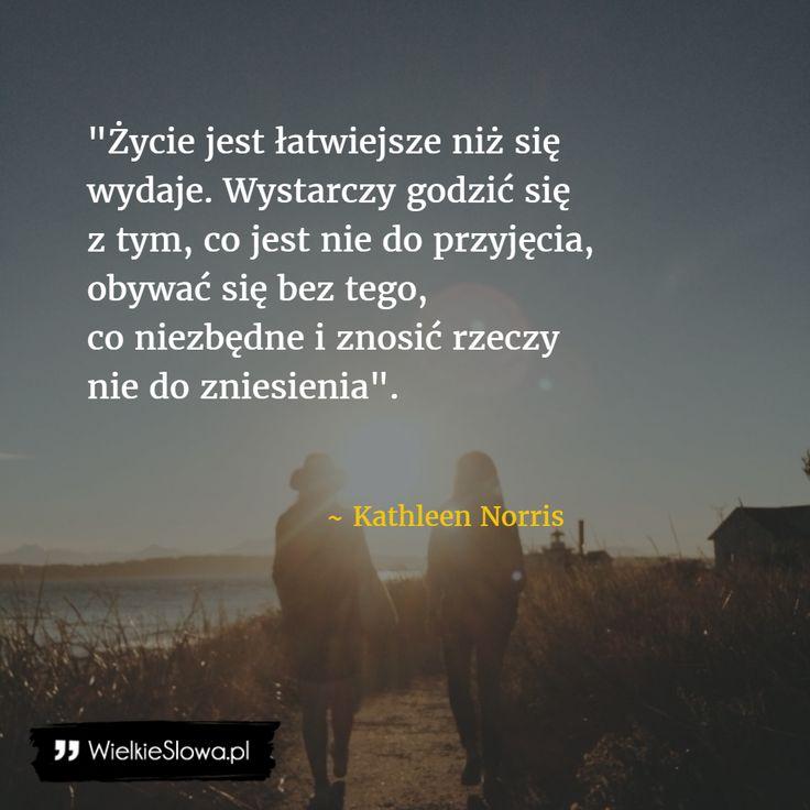 Życie jest łatwiejsze niż się wydaje... #Norris-Kathleen,  #Humor-i-dowcip, #Życie