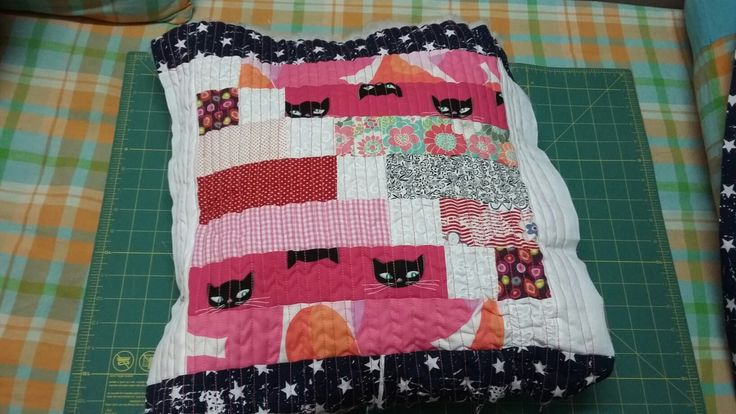 Patchwork quilted  Colorado mixing