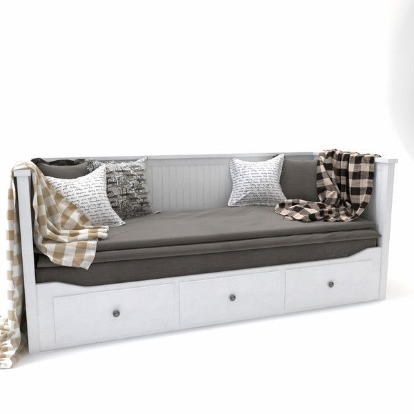 3d model bed sofa ikea hemnes daybed style and design for Sofa bed 3d model