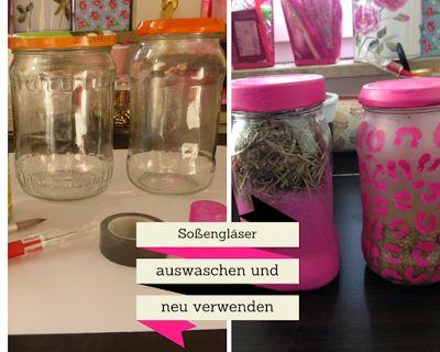 My.Life.Ink: Recycling DIY - Soßengläser