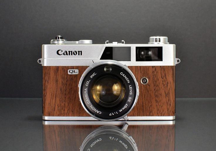 Canonet wood veneer