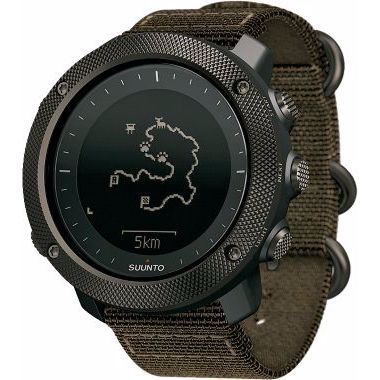 Engineered for hunters and anglers, Suunto's Traverse Alpha Digital GPS Watch intuitively tracks your favorite fishing holes and where you've taken shots at big game.