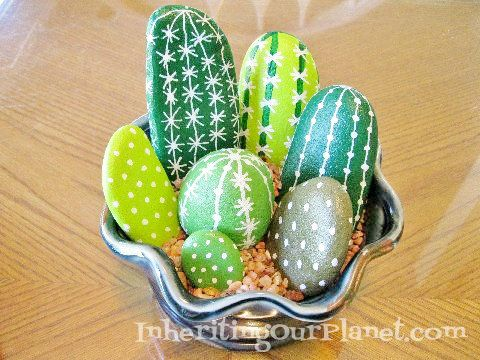 Painted Rock Craft For Kids A Fun Both The