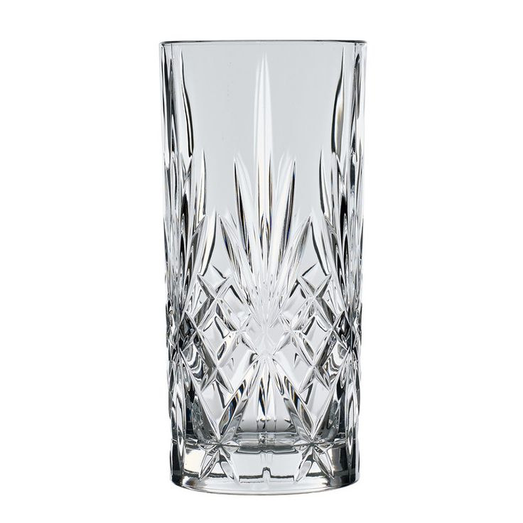 Lyngby Melodia glas highball 6 stk - Ølglas - Glas - BORD