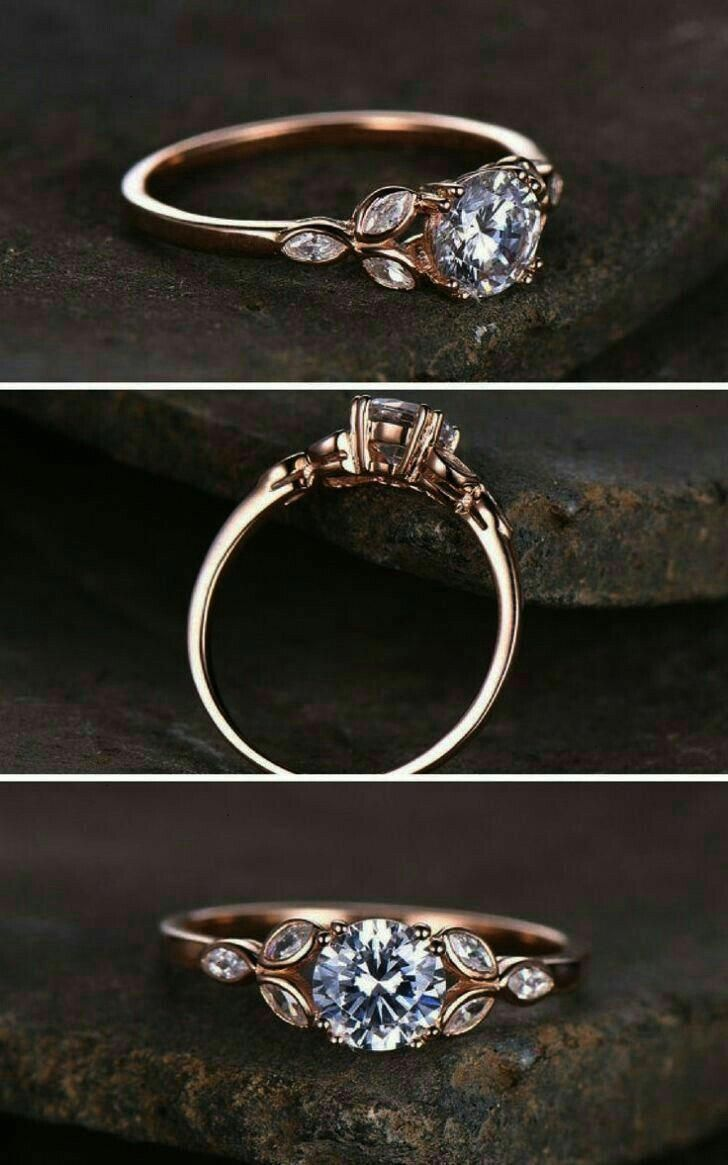 Ich liebe diesen #rosegoldengagementring #diesen #goldjewelryideas #liebe
