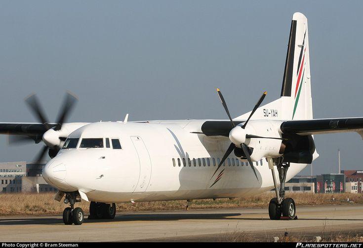 Palestine  airways fokker 50 SU-YAH